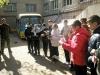 Напередодні Дня Захисника України, в межах Всеукраїнської акції «Покрова Героїв», 13 жовтня учні 6 та 7-Б класів відвідали гуртожиток, де мешкають військові, захисники миру в нашому місті, та привітали їх зі святом.