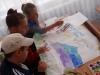 У пришкільному таборі «Веселка», що працює на базі школи №5 м. Бахмута, було проведено тематичний день, присвячений Дню Конституції України.