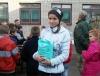 Туристська естафета, присвячена Дню захисника України, відбулася серед школярів м. Бахмута
