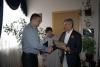 З нагоди ювілею міськгазу представники Бахмутської міської ради привітали колектив з 55-ю річницею.