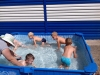 Вправи вихованців дитячого садка №54 «Світлячок» у переносного басейну.