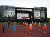На стадіоні міського спорткомплексу «Металург» святковий концерт до Дня Міста Бахмут під назвою «Зіркова Феєрія» зібрав тисячі містян та гостей Бахмута.