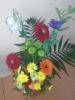 У Бахмутській школі №5 з профільним навчанням Напередодні Дня захисника України учні 4-5 класів організували виставку квіткових композицій «Квіти захисникам», яку присвятили воїнам - захисникам України.