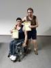 13 квітня у приміщенні стадіону «Металург» відбувся чемпіонат міста з настільного тенісу серед людей з інвалідністю з ураженням ОРА, в якому прийняло участь 2 жінки и 6 чоловіків.