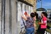 17 травня 2018 року в рамках святкування Дня Вишиванки представники Бахмутської громади зібралися на виїзді з міста для створення нової родзинки у Бахмуті.