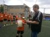 2-18 травня на футбольному майданчику стадіону «Металург» проходили традиційні змагання Спартакіади Бахмута - з міні-футболу серед команд учнів 5-7 класів загальноосвітніх шкіл міста.
