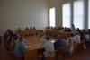 Бахмутський міський голова Олексій Рева провів робочі  наради з представниками охорони здоров'я та освіти.