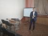 До учнів Бахмутської школи №5 завітав литовський політолог Альвідас Медалінсас