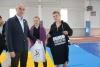 """6 жовтня на стадіоні """"Металург"""" м. Бахмута, федерацією сумо Донецької області були проведені змагання присвячені Дню захисника України."""