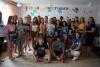 12 липня профконсультанти Бахмутського міського центру зайнятості завітали до старшокласників у літній табір відпочинку «Вогник»  з  інтерактивним змагальним профорієнтаційним квестом «Світ професій. Обирай свою».