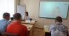 13 серпня 2019 року в Бахмутському міському центрі зайнятості 15 шукачів роботи спілкувалися з роботодавцем дистанційно за допомогою Skype-зв'язку.