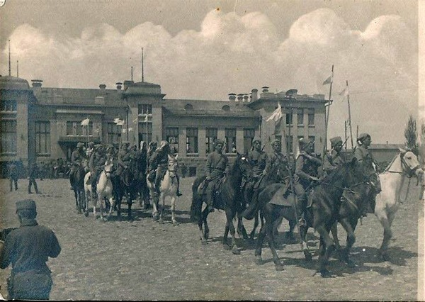 Українське козацтво в Бахмуті, 1918 р.
