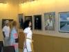 15 июня в Артемовском краеведческом музее открылась выставка  работ живописца из Красного Лимана Николая Корягина, члена Национального союза художников Украины, и его ученицы – художницы из Славянска Елены Кузнецовой.