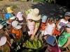 У дошкільному навчальному закладі №25 «Дзвіночок» у липні пройшов тиждень взаємовідвідування освітньої діяльності вихователями «Ознайомлення дошкільників з народними традиціями, фольклором та іграми».