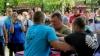 З нагоди святкування Дня Незалежності України 24 серпня у Краматорську пройшли «Козацькі розваги» серед чоловіків.